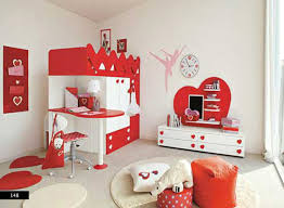 red and white furniture. Dazzling Bedroom Ideas For Teenage Girls With Red Colors Theme And Beautiful Furniture Cabinet Decoration White