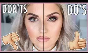 makeup mistakes we all do do s and don ts