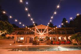 com low e led outdoor string lights weatherproof