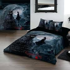 gothic bedding sets bedding set ravens cry king size duvet set gothic comforter sets king