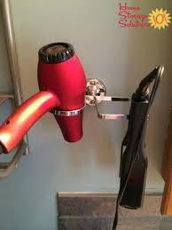 hair appliance holder ideas solutions