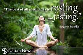 Fasting Quotes Classy The Best Of All Medicines Is Resting And Fasting