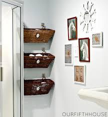 bathroom wall decorating ideas. 30 creative and practical diy bathroom storage ideas wall decorating i