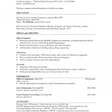 Stunning Pre Med Resume Photos Simple Resume Office Templates