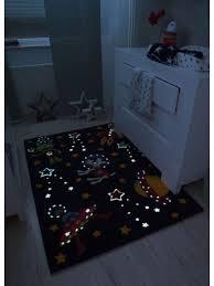spirit glowy 3144 violet space children s rug by arte espina