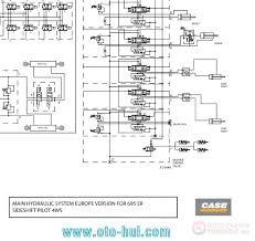 case backhoe loader schematic for 580sr 590sr 695sr auto more the random threads same category case mini excavator cx36b service manual