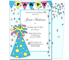 Example Invitation Card Birthday Party – Willconway.co