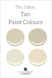 the 5 best tan neutral paint colours
