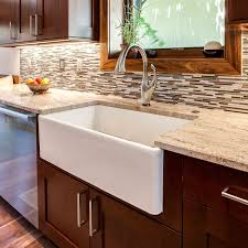 Farmhouse Style Kitchen Sinks Sink Options For Your Colorado Kitchen Lenova Kohler American Standard