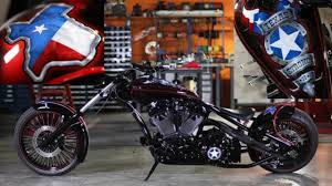 orange county choppers to auction custom texas strong bike