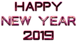 Happy New Year 2019 PNG Images with Transparent Background | New ...