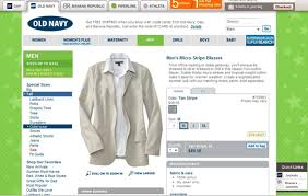The Shopping Experience Oldnavy Com Easy To Use But Not