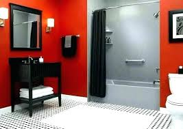 red and gray bathroom dark grey and white bathroom ideas red black gray decor d red red and gray bathroom