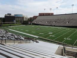 Vanderbilt Football Stadium Virtual Seating Chart Vanderbilt Football Tickets 2019 Commodores Games Ticketcity