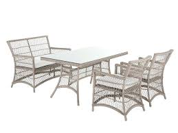 wicker patio dining chairs. Balcony Table And Chairs 4 Piece All Weather Wicker Patio Dining Set Outdoor