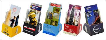 Cardboard Brochure Display Stands Printed Cardboard Brochure Holder 1