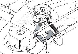 John Deere Z425 Deck Belt Diagram