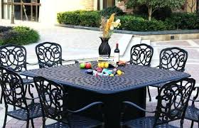 propane fire pit table set fire pit table set propane dining barrel outdoor pit table set