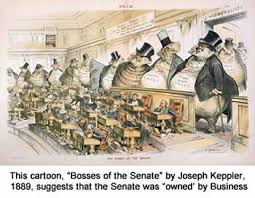 politics in the gilded age  bosses of the senate during the gilded age
