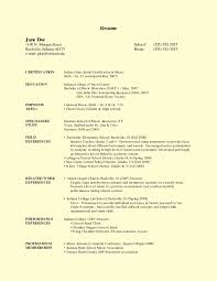 Music Education Resume Examples First Year Teaching Resume Beautiful Cv Samples Music Education 42