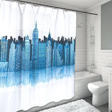 skyline shower curtain new city skyline water resistant shower curtain london skyline shower curtain skyline shower curtain
