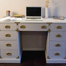 campaign style desk