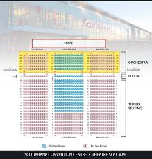 Ageless Scotiabank Convention Centre Seating Chart Live By