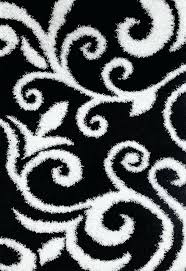 black damask transitional area rugs 5x8 7x10 bargain black and white area rug black white
