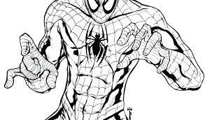 Spiderman Coloring Page Superhero Com Book Coloring Pages Awesome