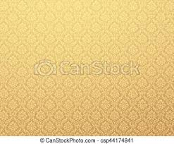 Gold Damask Background Gold Damask Pattern Background