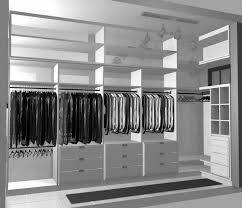 sumptuous white polished closet design ideas in minimalist modern walk in closet decors with open shelves and clothes hanger as clothes organizers ideas