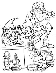 Elf Colouring Pages Free Elves Coloring Pages Printable Elf Coloring