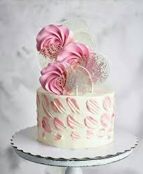 Pretty Cake This Would Be A Nice Birthday Cake Girls Cakes In 2019