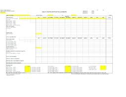 Projected Balance Sheet In Excel Projected Profit And Loss Template