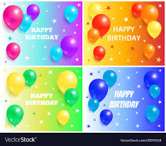 Free Birthday Backgrounds Happy Birthday Backgrounds With Glossy Balloons