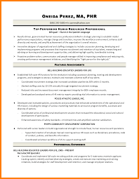 10 Sample Human Resource Generalist Resume Free Ride Cycles