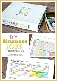 Home Finance Bill Organizer 2015 Diy Finances Ledger Budgeting Money Finance Budgeting