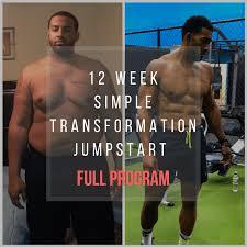 12 week simple transformation jumpstart program plete