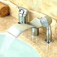 widespread waterfall faucet waterfall faucet bathroom faucet no set bathtub faucet set bath faucet sets polished chrome waterfall spout widespread
