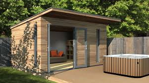 timber garden office. 4 X 3 Canopy Garden Room Or Office Space Timber