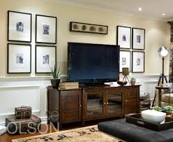 Tv Stand Decor Looking For A Solution For Hanging Pictures On Your Tv Wall This