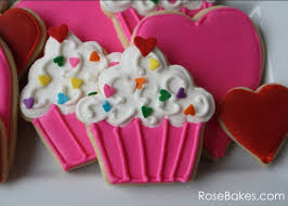 Cupcakes Hearts 1st Birthday Party Cookies Cupcakes Smash Cake
