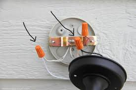 home improvement replacing outdoor light fixtures don t be 4808