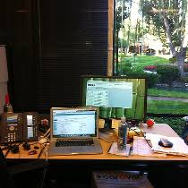 google california office. Google Photo Of: My Desk In Mountain View CA California Office (