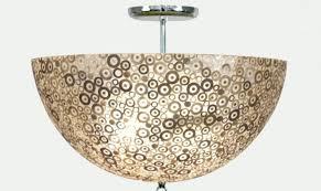 capiz lotus flower chandelier large designs