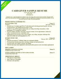 Caregiver Sample Resume Nanny Resume Skills Caregiver Resume Sample Images emberskyme 69
