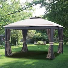garden winds replacement canopy top for allen roth wicker 10x12 gazebo l gz815pco f riplock 350 com