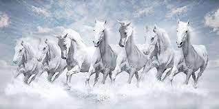 Running Seven Horses Wallpapers ...