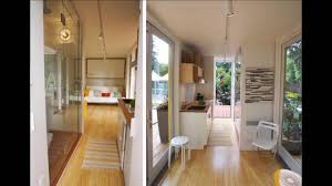AMAZING Container Homes Interior YouTube - Container house interior