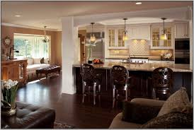 Best Finest Gallery Of Open Kitchen And Living Room 165